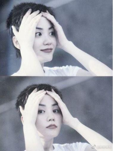 Minh tinh Cbiz và thử thách tóc siêu ngắn: Địch Lệ Nhiệt Ba xuống sắc, Châu Đông Vũ nhận mưa lời trầm trồ - Ảnh 9.