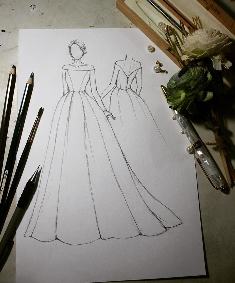 Đàm Thu Trang nhử fan với hình ảnh cô dâu xinh đẹp, NTK tiết lộ giá trị của thiết kế váy khiến ai cũng bất ngờ - Ảnh 7.