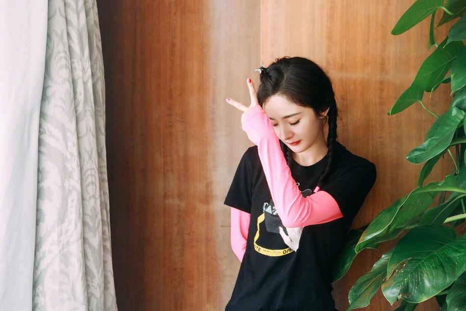 Hình ảnh của Dương Mịch hậu ly hôn Lưu Khải Uy: Trẻ lại chục tuổi, không khác nào thiếu nữ đôi mươi - Ảnh 1.