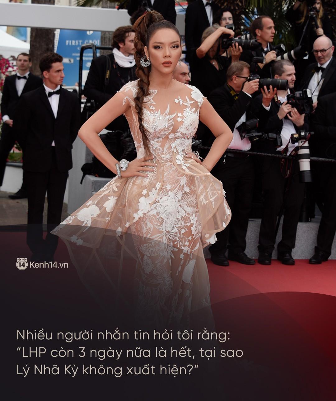 Lý Nhã Kỳ: Tự bỏ tiền túi đi Cannes là ngốc nghếch, thực chất chỉ làm khán giả vô danh - Ảnh 2.