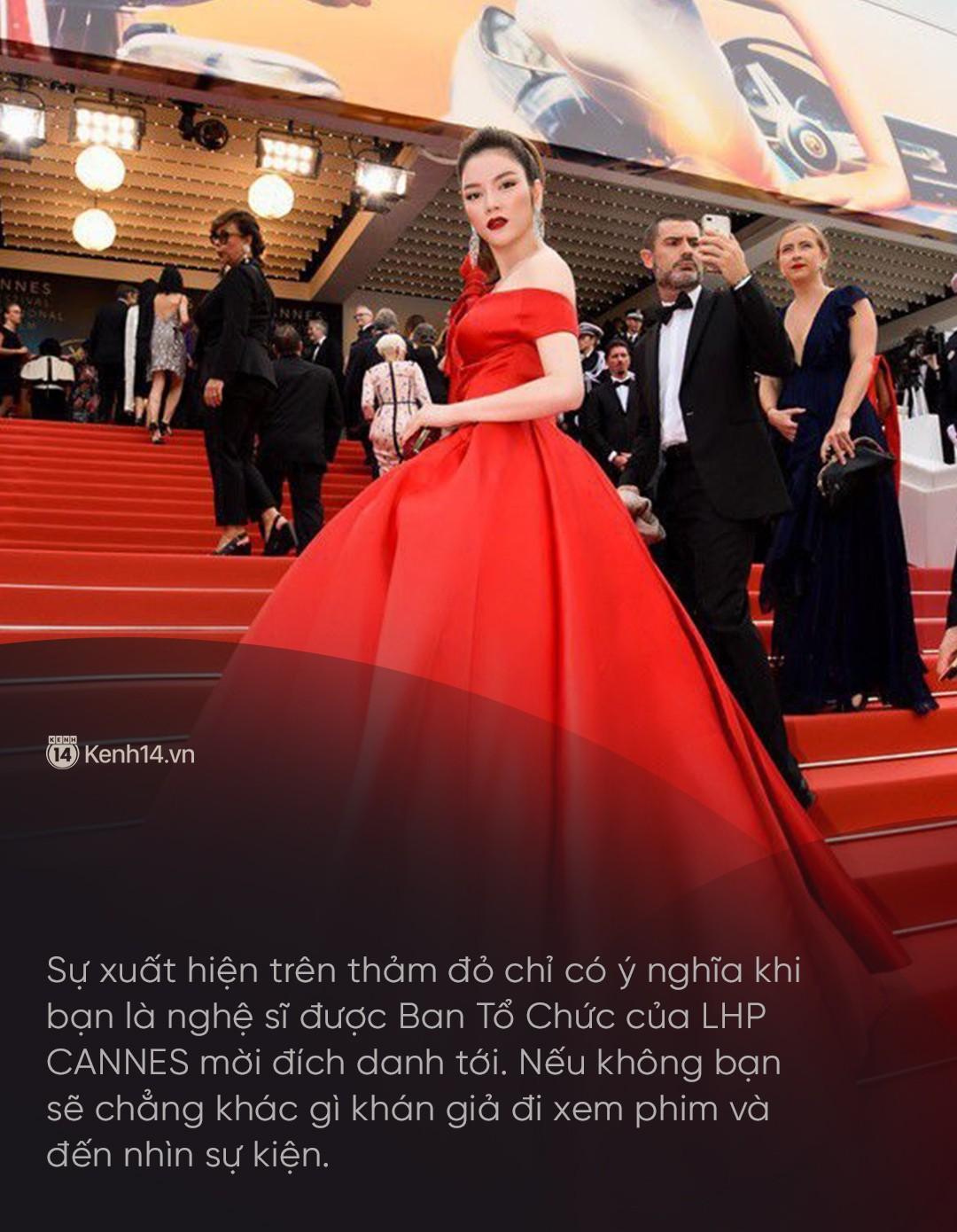 Lý Nhã Kỳ: Tự bỏ tiền túi đi Cannes là ngốc nghếch, thực chất chỉ làm khán giả vô danh - Ảnh 3.