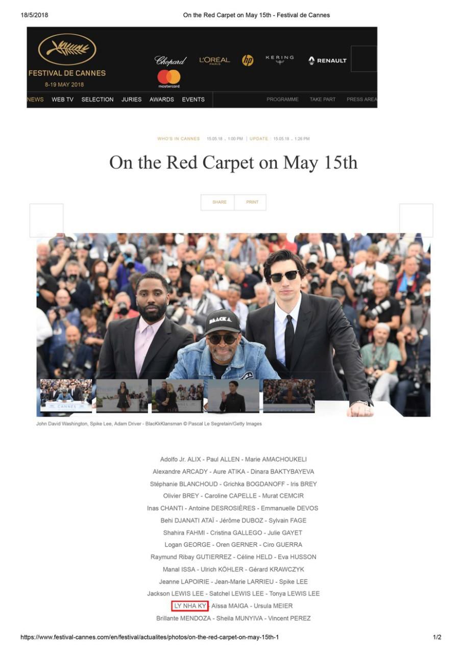 Lý Nhã Kỳ: Tự bỏ tiền túi đi Cannes là ngốc nghếch, thực chất chỉ làm khán giả vô danh - Ảnh 7.