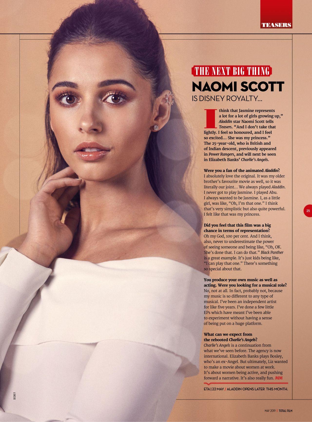 Jasmine đầu tiên của Aladdin Naomi Scott: Vẻ đẹp lai Á - Âu gây bão, từ ca sĩ vô danh thành công chúa mới của Disney - Ảnh 5.
