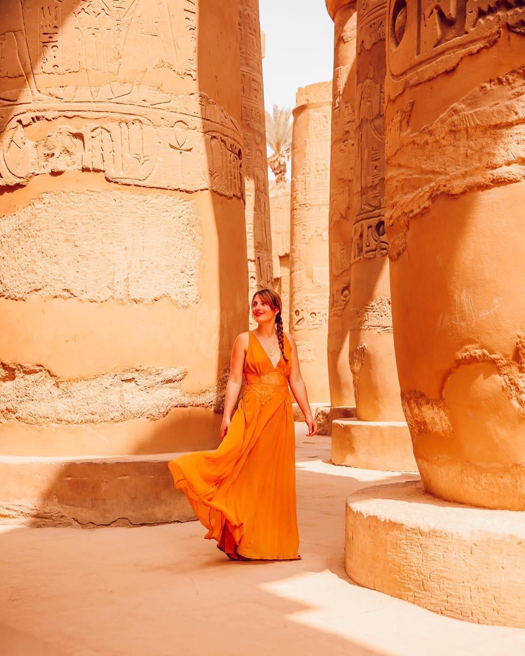 Đền Karnak: Bảo tàng ngoài trời lớn nhất thế giới, khiến giới blogger du lịch mê mẩn khi đặt chân đến Ai Cập - Ảnh 6.