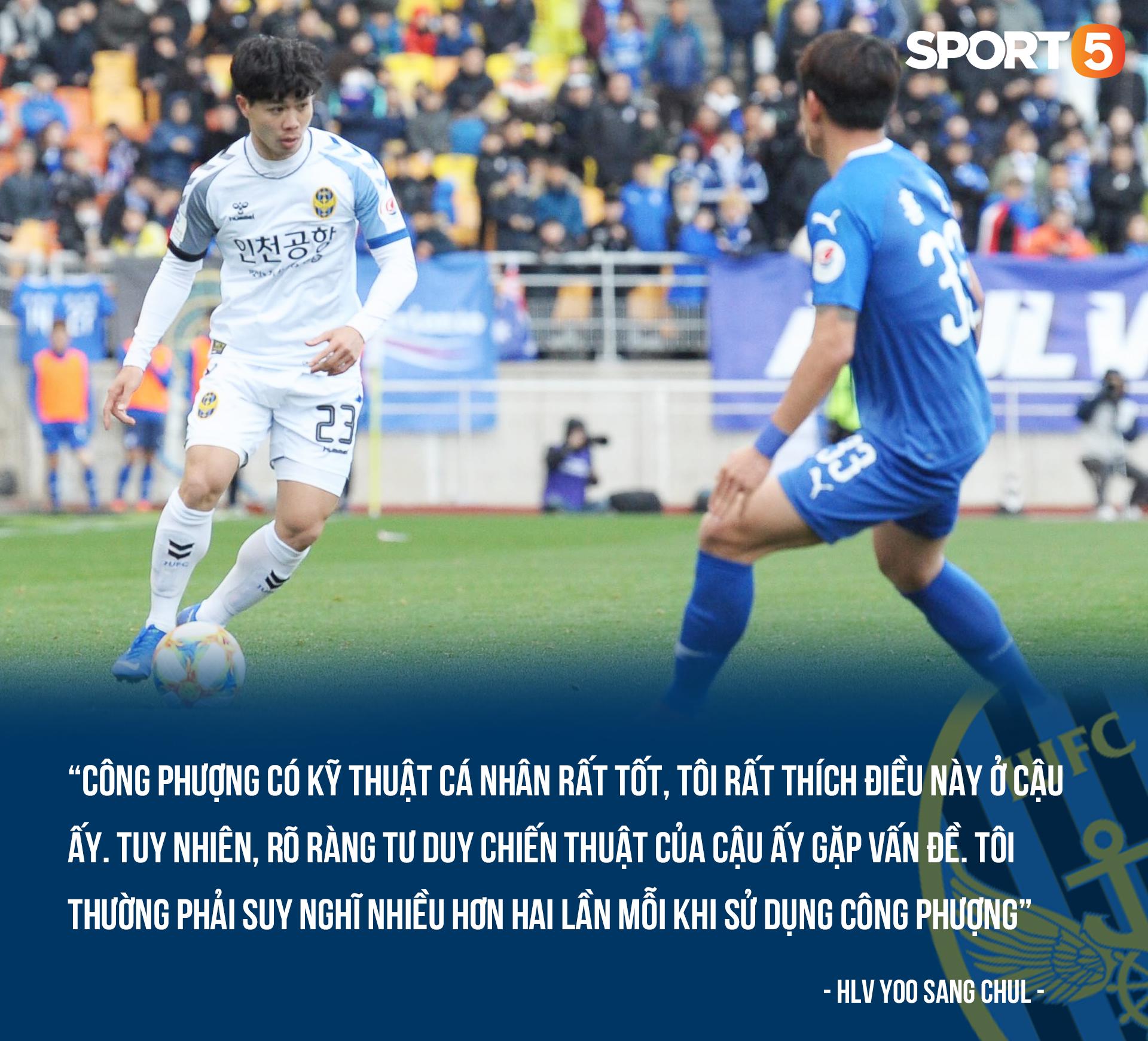 117 phút Công Phượng mới sút một lần, HLV Incheon United ngã ngửa: Tôi phải nghĩ nhiều hơn khi sử dụng cậu ấy - Ảnh 1.