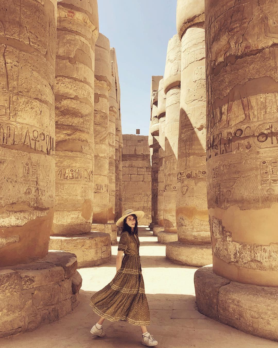 Đền Karnak: Bảo tàng ngoài trời lớn nhất thế giới, khiến giới blogger du lịch mê mẩn khi đặt chân đến Ai Cập - Ảnh 9.
