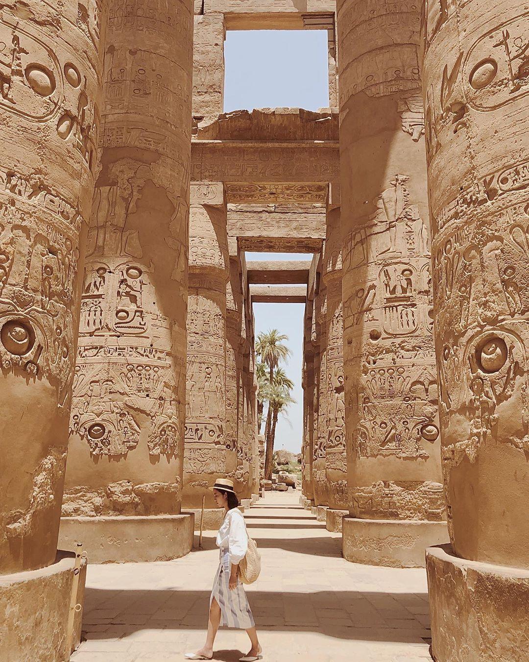 Đền Karnak: Bảo tàng ngoài trời lớn nhất thế giới, khiến giới blogger du lịch mê mẩn khi đặt chân đến Ai Cập - Ảnh 13.