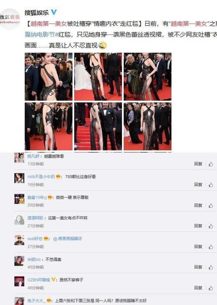 Truyền thông và netizen nước ngoài phản ứng gay gắt về Ngọc Trinh tại Cannes: Báo Anh, Pháp còn không căng bằng xứ Trung - Ảnh 6.