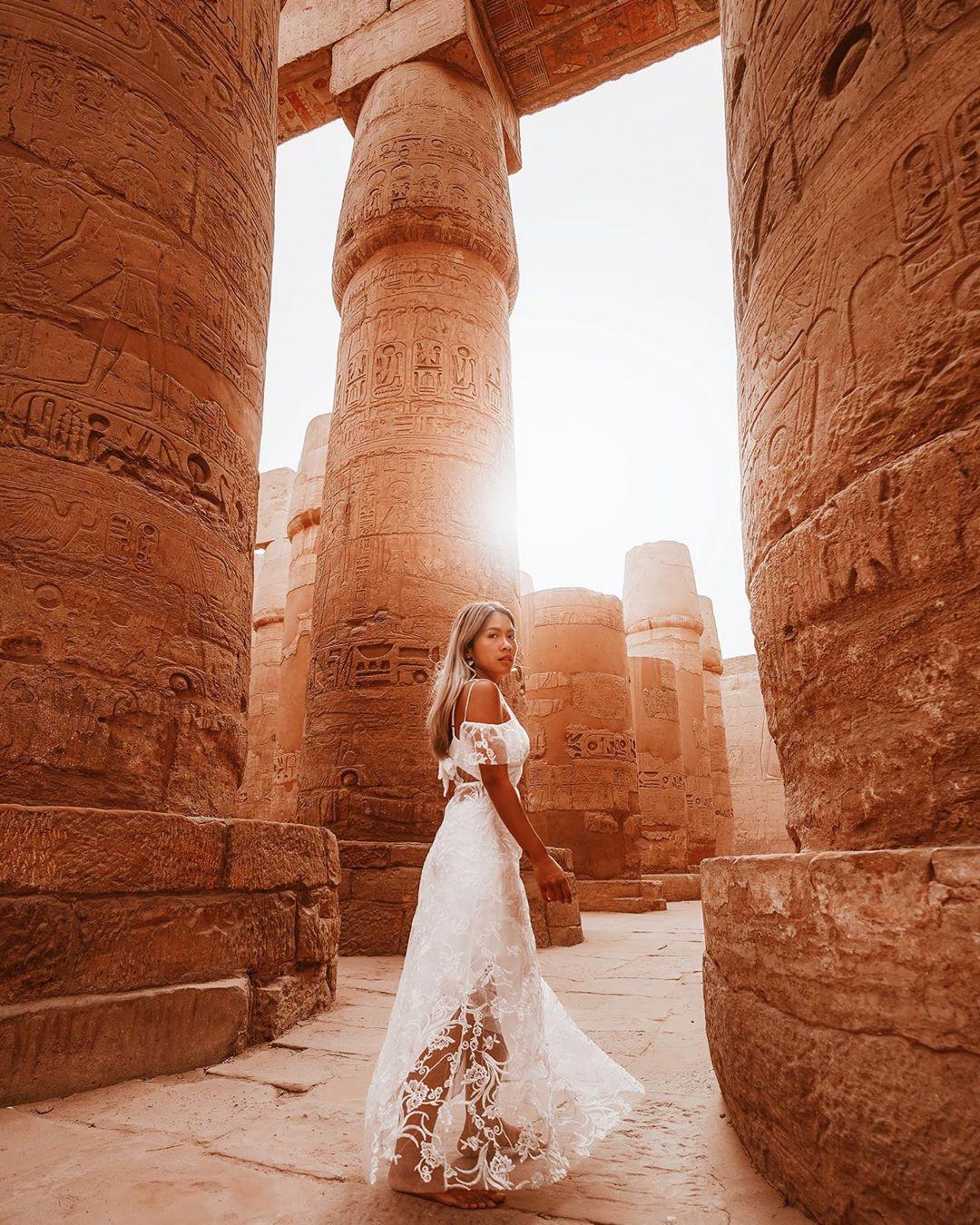 Đền Karnak: Bảo tàng ngoài trời lớn nhất thế giới, khiến giới blogger du lịch mê mẩn khi đặt chân đến Ai Cập - Ảnh 15.