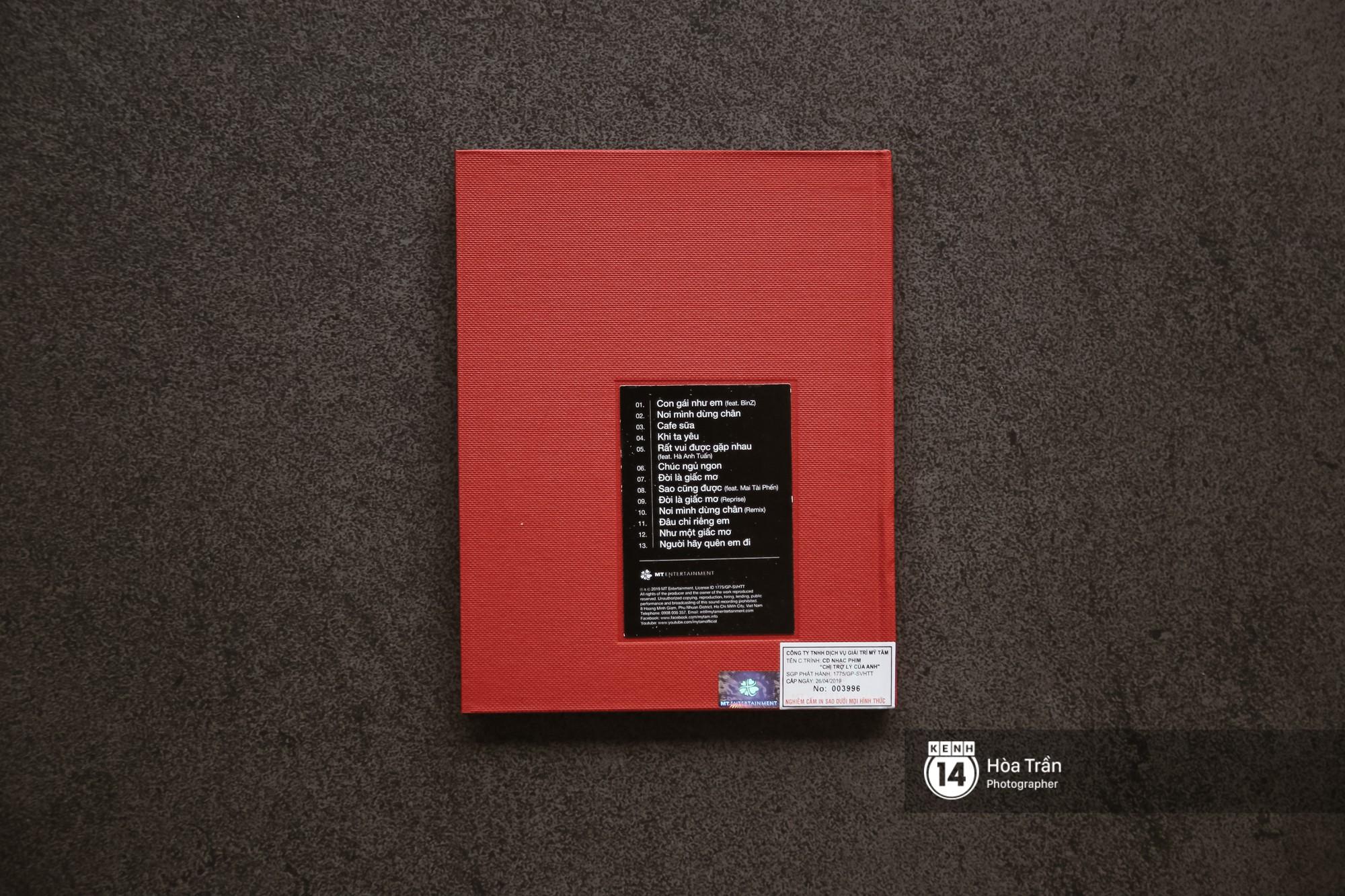 Đập hộp album nhạc phim của Mỹ Tâm: Hơn một nửa là bài cũ, tiêu thụ 4000 bản chỉ trong 2 giờ! - Ảnh 2.