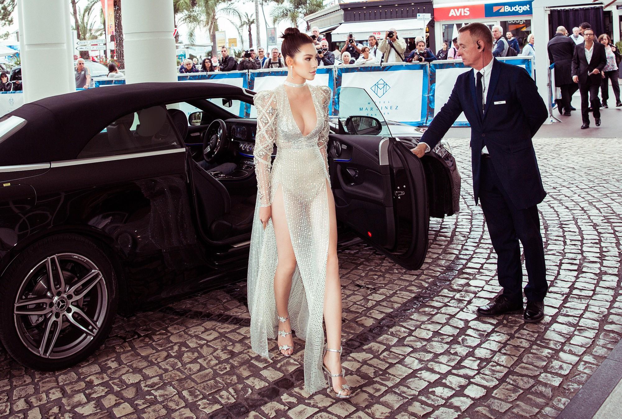 Cũng góp mặt tại Cannes, nhưng Hoa hậu Jolie Nguyễn lại đến với tư cách một... blogger? - Ảnh 2.