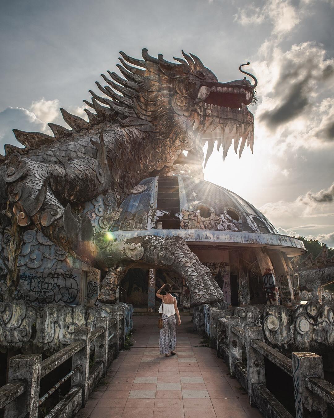 """Công viên nước bị bỏ hoang ở Huế bỗng dưng """"hot"""" trở lại sau 15 năm: Bí ẩn """"ma mị"""" mãi vẫn chưa có lời giải đáp - Ảnh 16."""