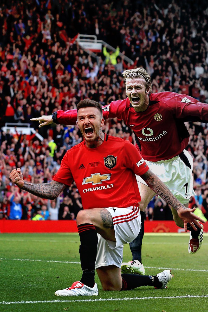 Ngất ngây trước những hình ảnh đẹp long lanh của Beckham trong ngày mặc lại bộ áo đấu MU, tái hiện ký ức thanh xuân tươi đẹp của hàng chục triệu người hâm mộ - Ảnh 16.