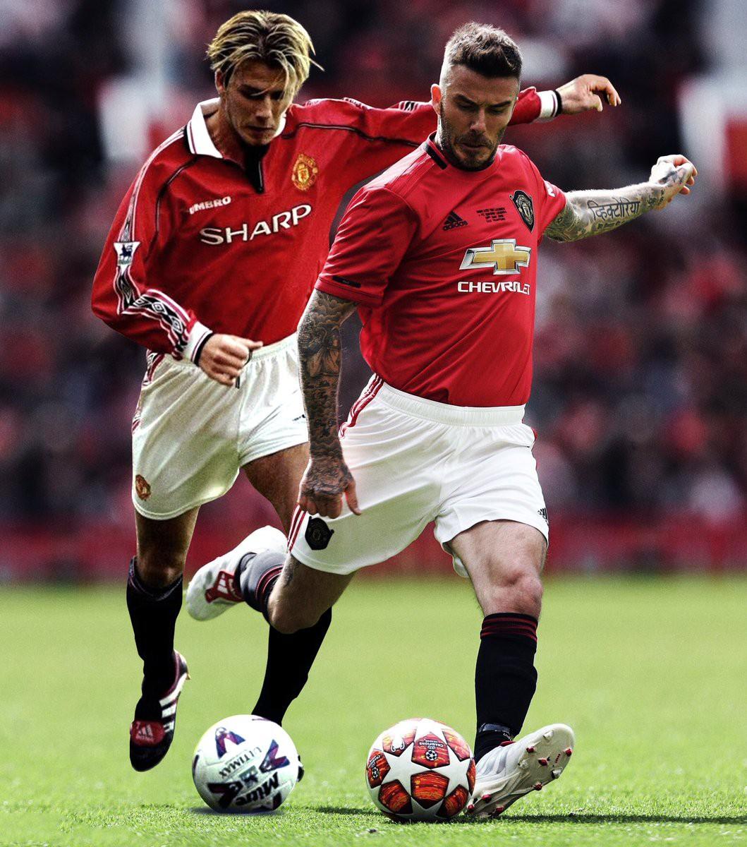 Ngất ngây trước những hình ảnh đẹp long lanh của Beckham trong ngày mặc lại bộ áo đấu MU, tái hiện ký ức thanh xuân tươi đẹp của hàng chục triệu người hâm mộ - Ảnh 17.