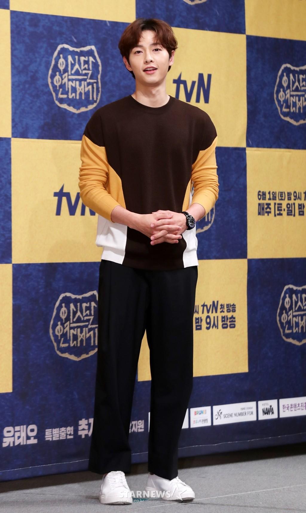 Ơn giời! Song Joong Ki cuối cùng đã kể về vợ sau tin đồn ly hôn, tiết lộ cách cô động viên anh suốt thời gian qua - Ảnh 3.