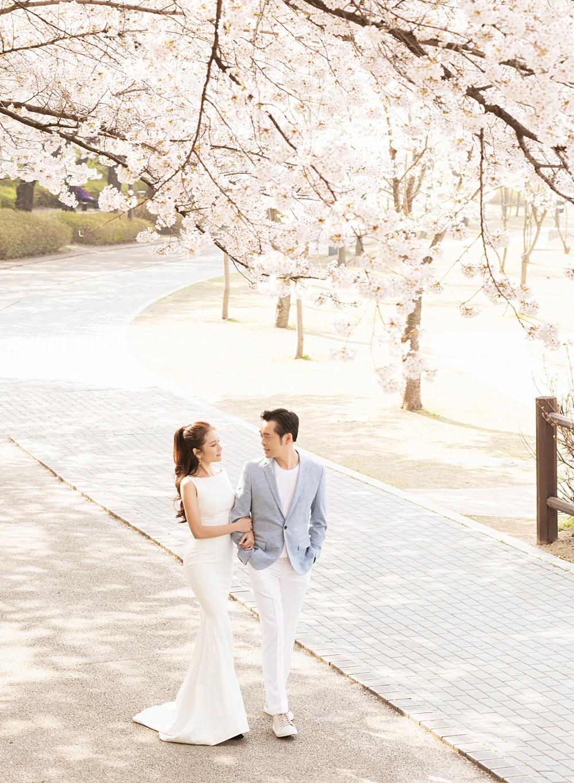 Cận ngày trọng đại, Dương Khắc Linh - Ngọc Duyên tung trọn bộ ảnh cưới lãng mạn tại Hàn Quốc - Ảnh 2.