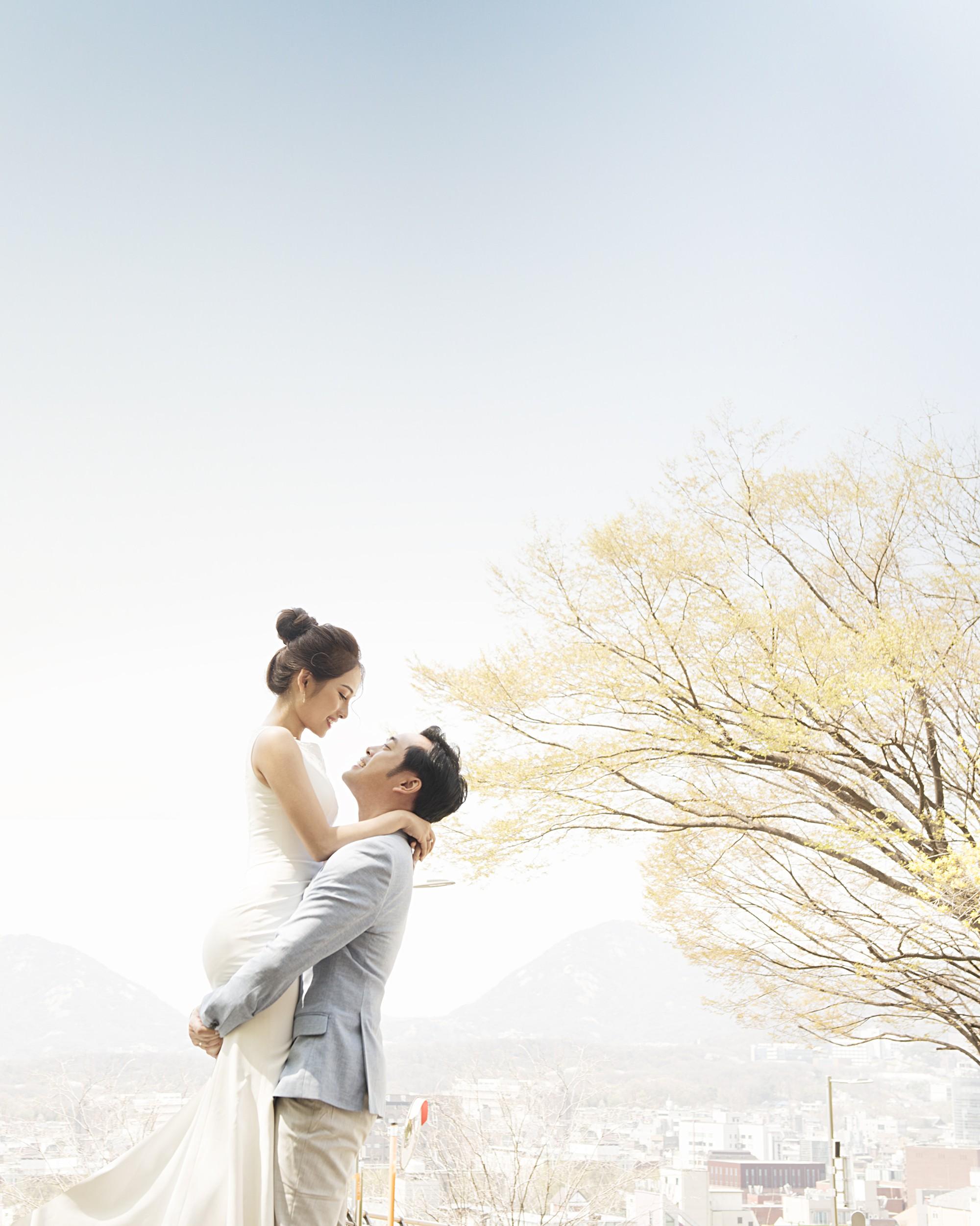 Cận ngày trọng đại, Dương Khắc Linh - Ngọc Duyên tung trọn bộ ảnh cưới lãng mạn tại Hàn Quốc - Ảnh 6.