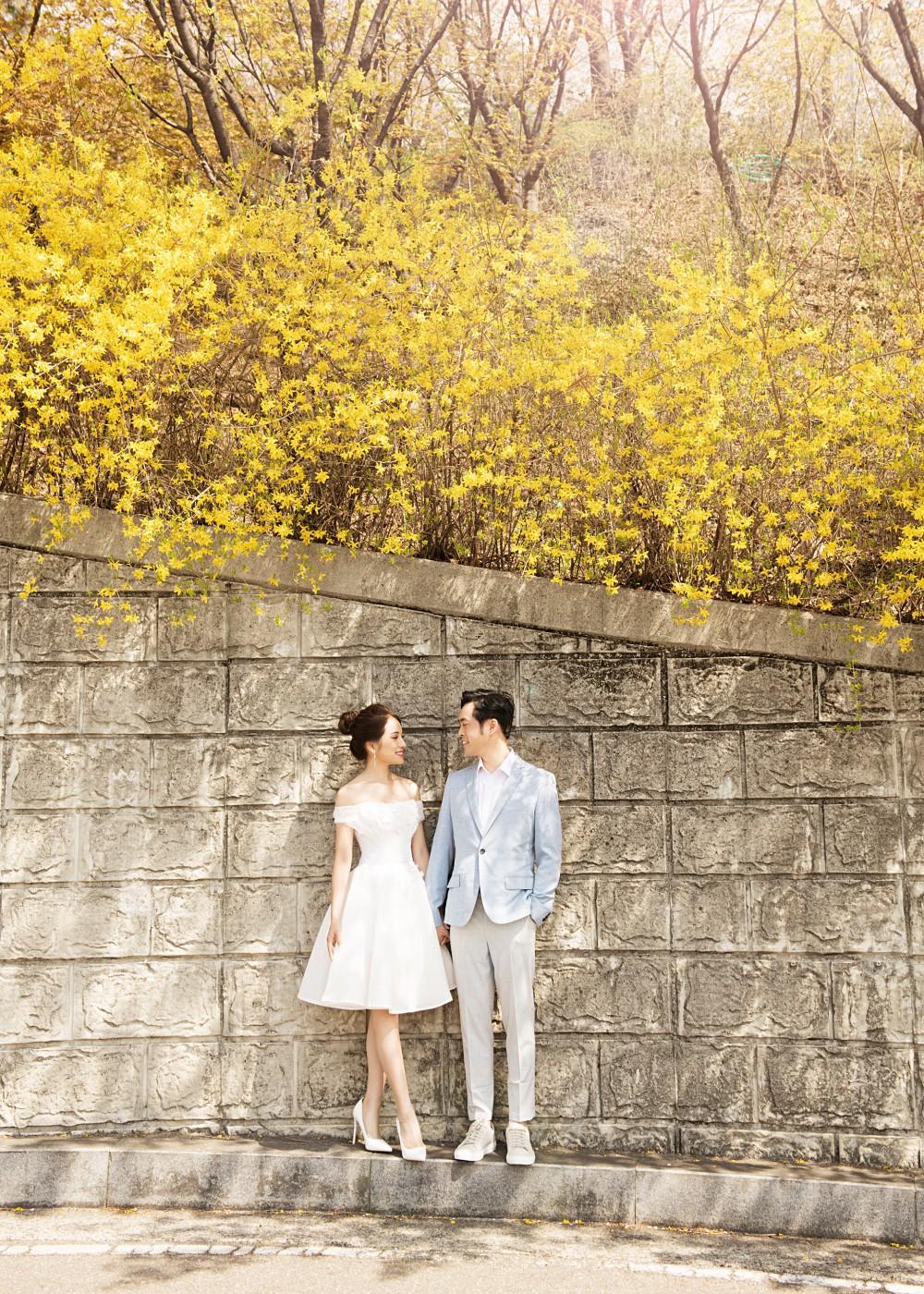 Cận ngày trọng đại, Dương Khắc Linh - Ngọc Duyên tung trọn bộ ảnh cưới lãng mạn tại Hàn Quốc - Ảnh 7.