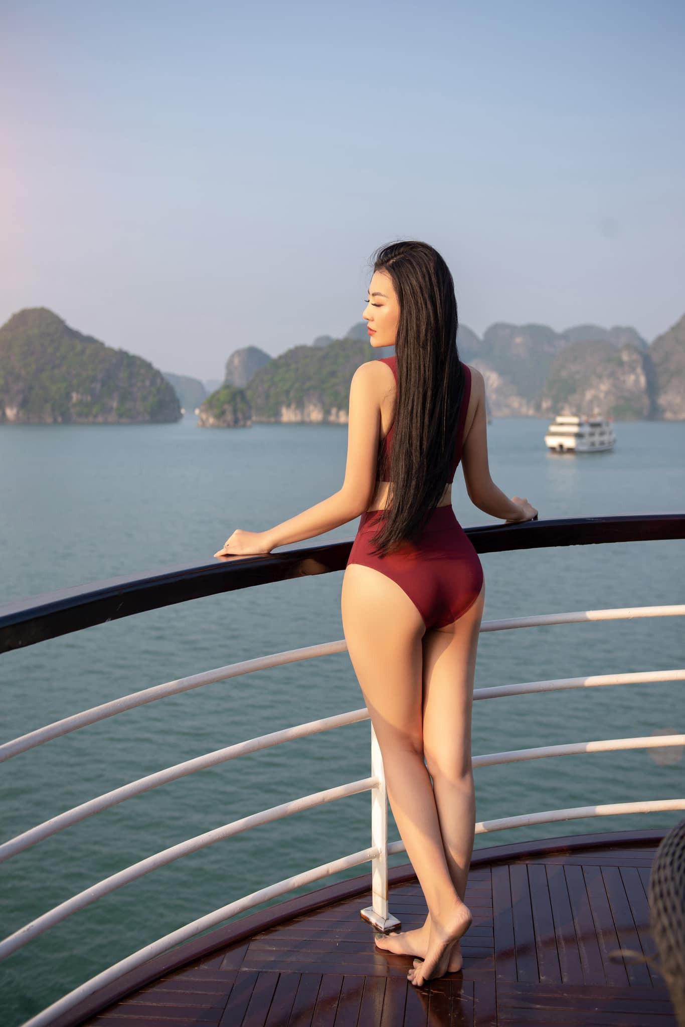 Thanh Hương Quỳnh búp bê tung trọn bộ bikini gợi cảm, khoe vòng 1 sexy ná thở - Ảnh 3.