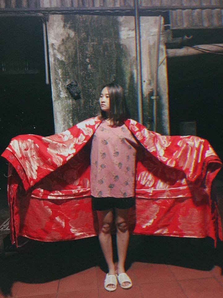 Cô bạn mượn chăn của mẹ cosplay Cám, tuy lầy nhưng thần thái so với Chi Pu cũng một chín một mười - Ảnh 3.