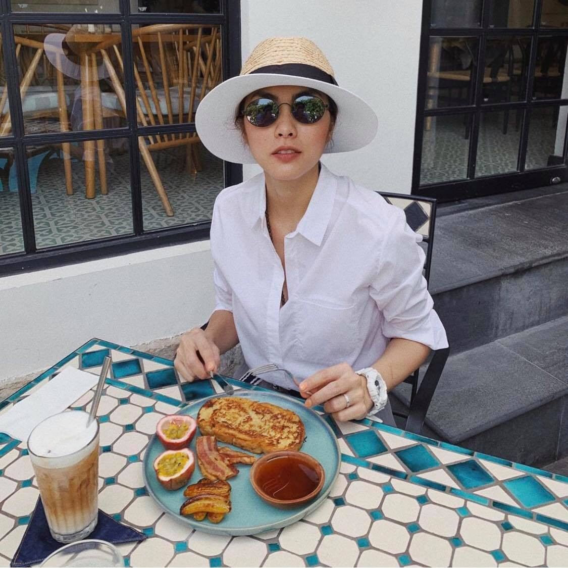 Loạt ảnh hậu trường đẹp xuất sắc của Hà Tăng khiến fan nóng lòng chờ ngày nàng ngọc nữ tái xuất điện ảnh - Ảnh 4.