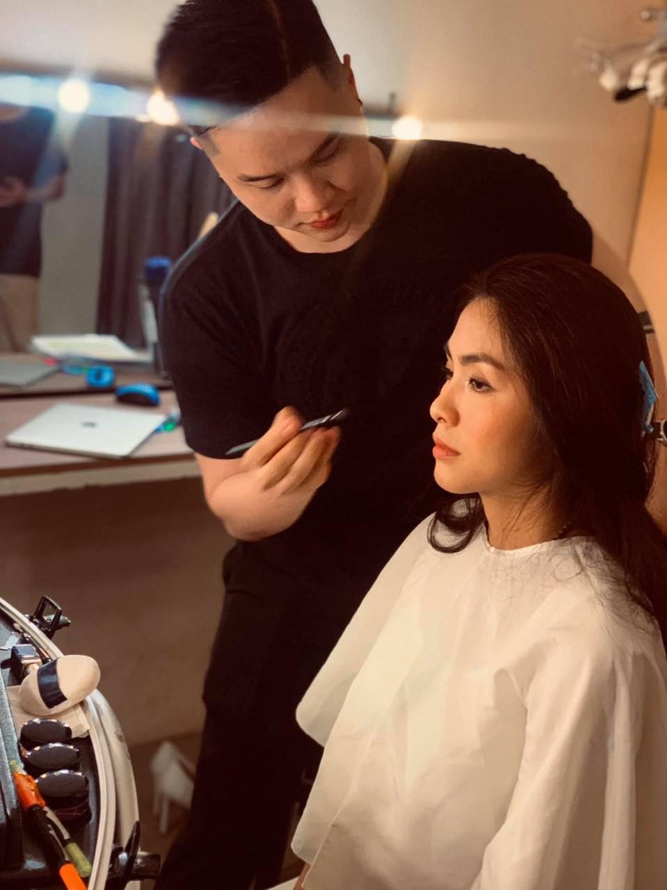Loạt ảnh hậu trường đẹp xuất sắc của Hà Tăng khiến fan nóng lòng chờ ngày nàng ngọc nữ tái xuất điện ảnh - Ảnh 3.