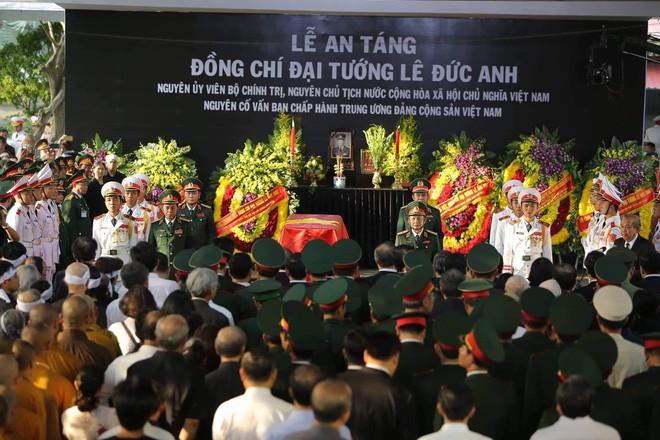 Lễ an táng cố Chủ tịch nước Lê Đức Anh ở TP Hồ Chí Minh - Ảnh 1.