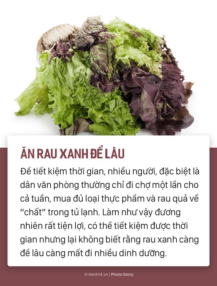 Những sai lầm khi chế biến khiến rau xanh mất dưỡng chất và không tốt cho sức khỏe - Ảnh 5.
