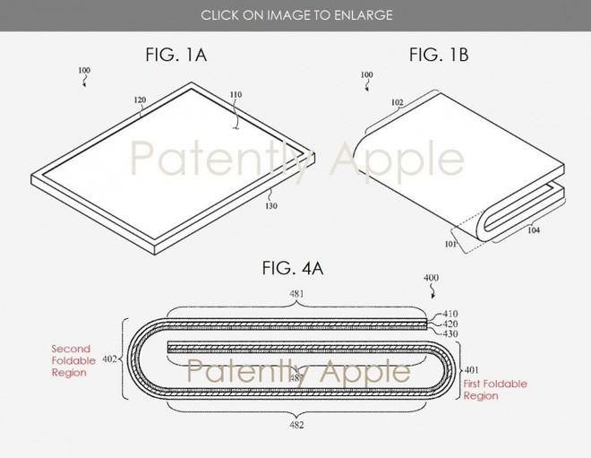 Apple được cấp bằng sáng chế iPhone màn hình gập, có thể ra mắt cuối năm 2020 - Ảnh 1.