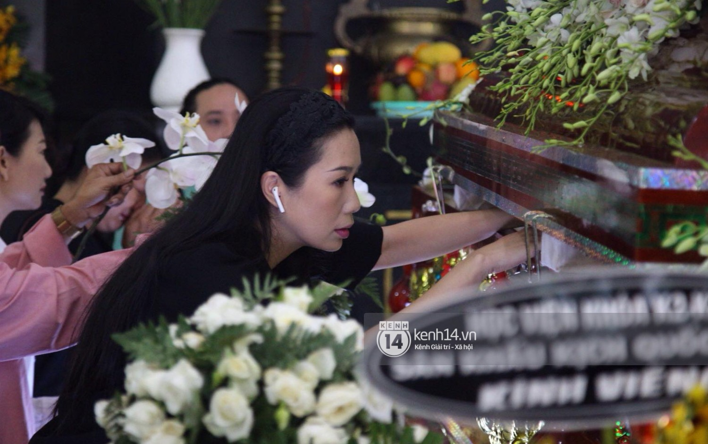 Gia đình, bạn bè đồng nghiệp xúc động bật khóc tiễn biệt cố nghệ sĩ Lê Bình về đất mẹ - Ảnh 6.