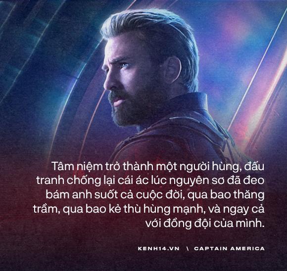 Dù là Captain America hay chỉ là một Steve Rogers, anh đã sống như một người đàn ông chân chính! - Ảnh 9.