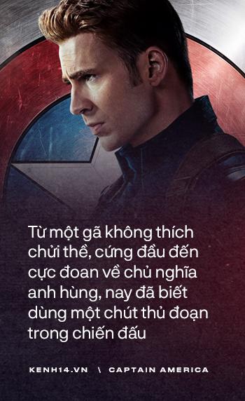 Dù là Captain America hay chỉ là một Steve Rogers, anh đã sống như một người đàn ông chân chính! - Ảnh 12.