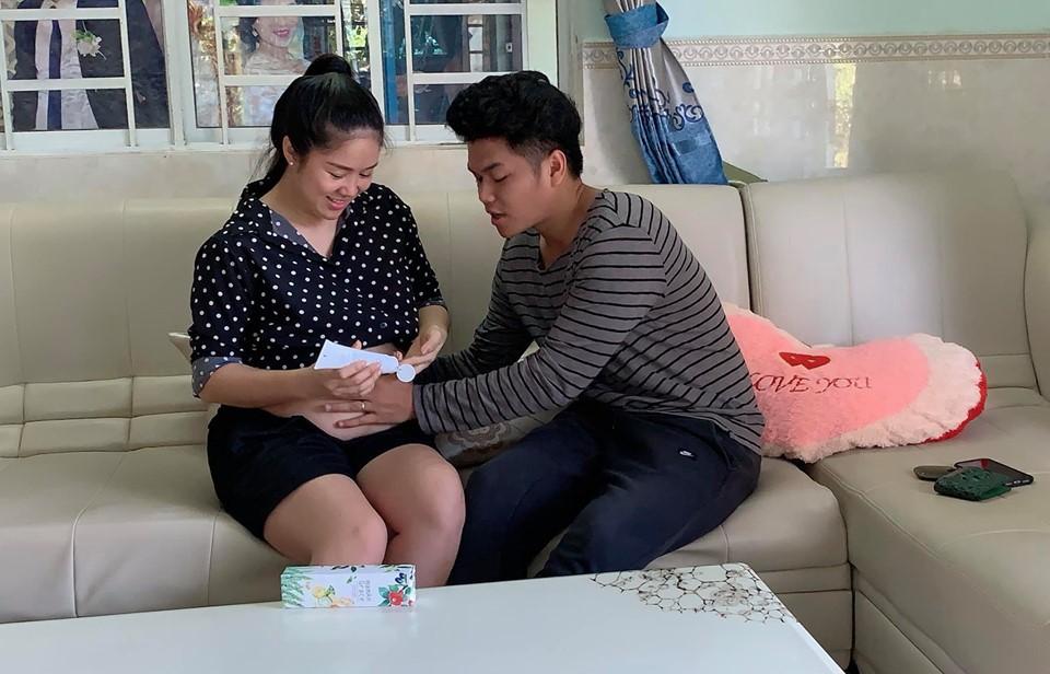 Bất ngờ với món quà sinh nhật ông xã Lê Phương muốn nhận được khi vợ cận kề ngày sinh nở - Ảnh 3.
