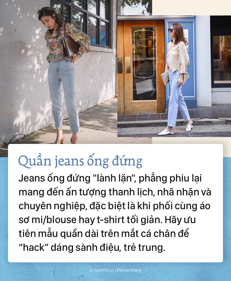 Nếu bạn muốn hướng đến phong cách thanh lịch, sang trọng thì không thể bỏ qua những mẫu quần jeans đình đám này - Ảnh 7.