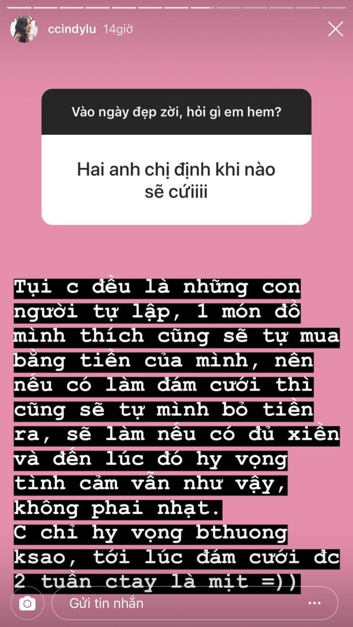 Bạn gái Hoài Lâm lần đầu trả lời về ý định kết hôn và nghi vấn có con riêng sau gần 8 năm yêu nhau - Ảnh 1.