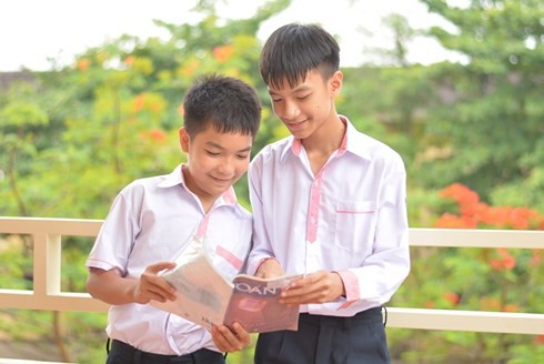 Hà Tĩnh: 2 anh em ruột giành huy chương giải toán học trẻ toàn quốc - Ảnh 1.