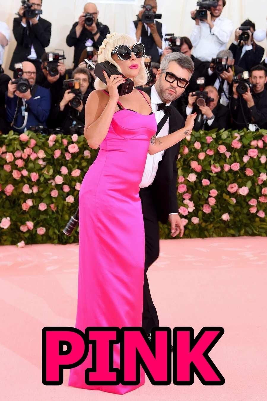 Tại Met Gala năm nay, bạn có nhìn thấy Lady Gaga trong bảng màu BLACKPINK in your area? - Ảnh 4.