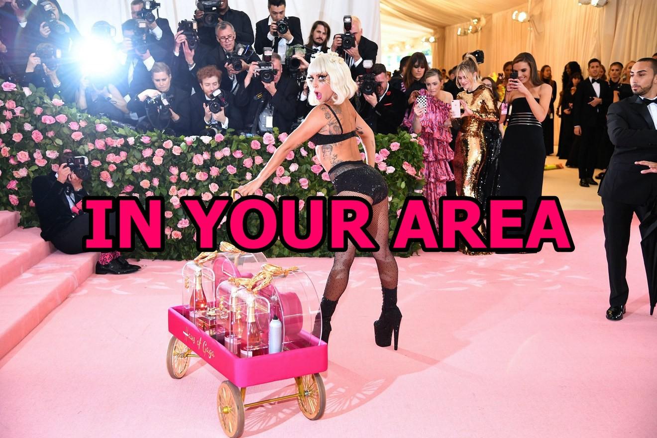 Tại Met Gala năm nay, bạn có nhìn thấy Lady Gaga trong bảng màu BLACKPINK in your area? - Ảnh 5.