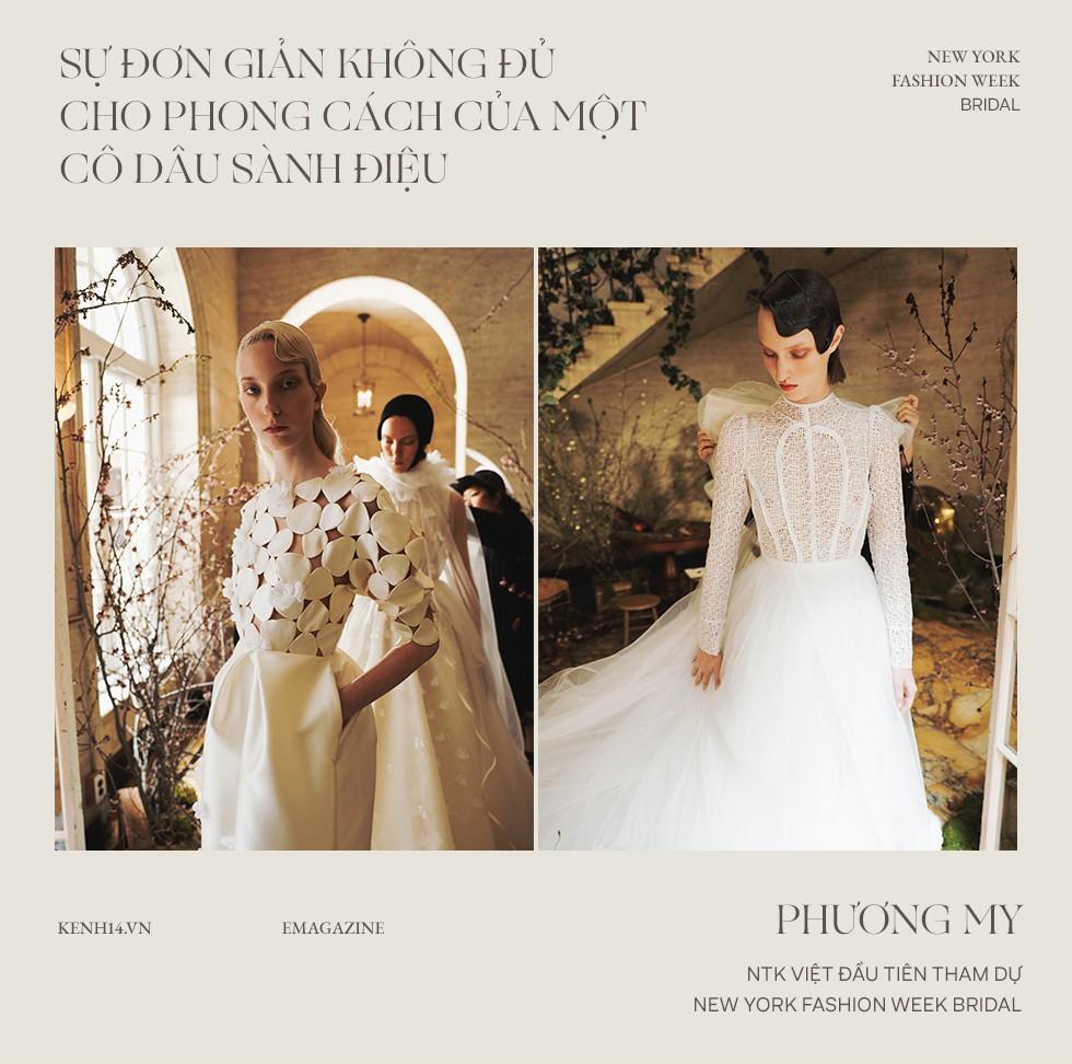"""Phương My - NTK Việt đầu tiên tham dự New York Fashion Week Bridal: Khi chiếc váy cưới trở thành tuyên ngôn cá tính của mỗi cô dâu"""" - Ảnh 1."""