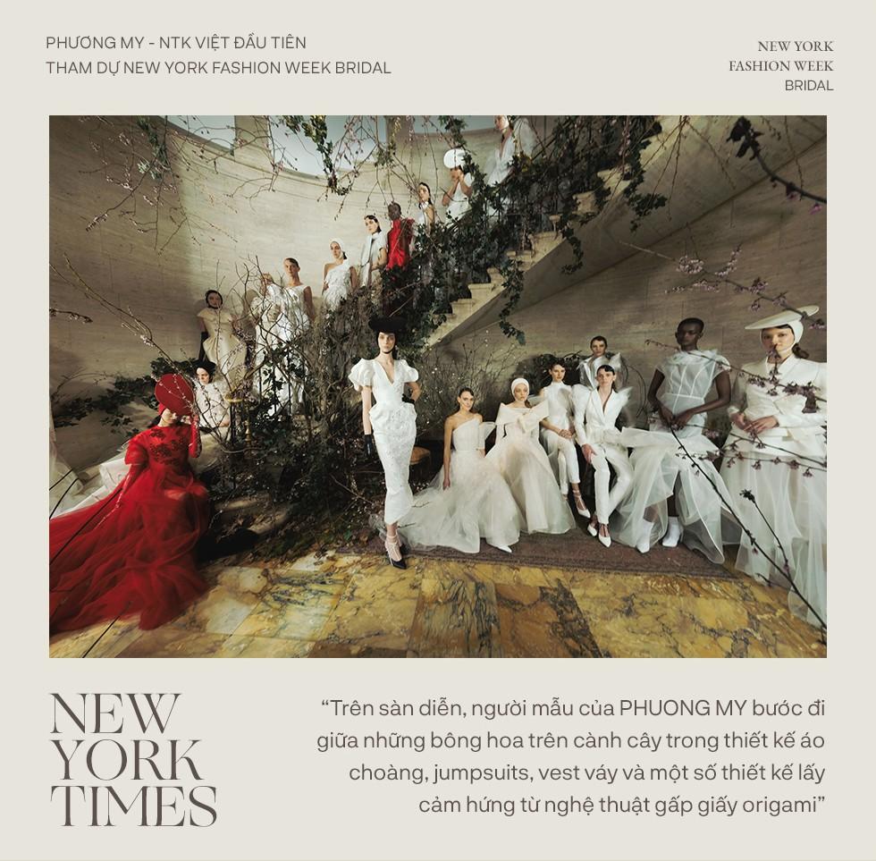 """Phương My - NTK Việt đầu tiên tham dự New York Fashion Week Bridal: Khi chiếc váy cưới trở thành tuyên ngôn cá tính của mỗi cô dâu"""" - Ảnh 7."""