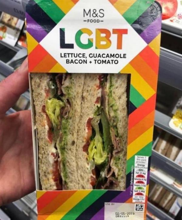 Marks & Spencer bị chỉ trích khi ra mắt loại sandwich cầu vồng dành riêng cho LGBT - Ảnh 3.