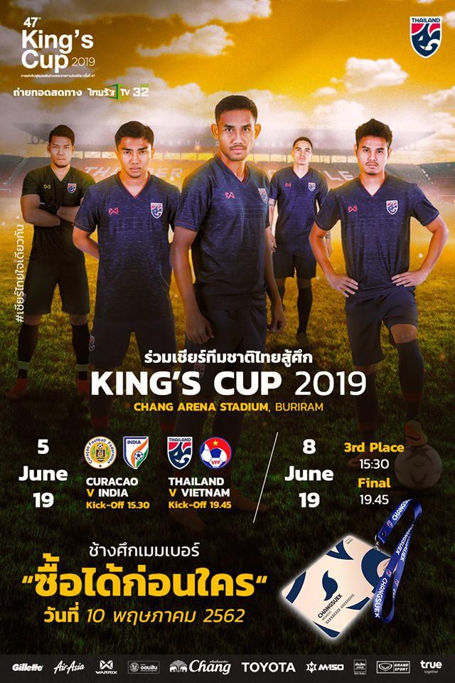 Nóng: Việt Nam đấu Thái Lan, tranh ngôi vương Đông Nam Á tại Kings Cup 2019 - Ảnh 2.