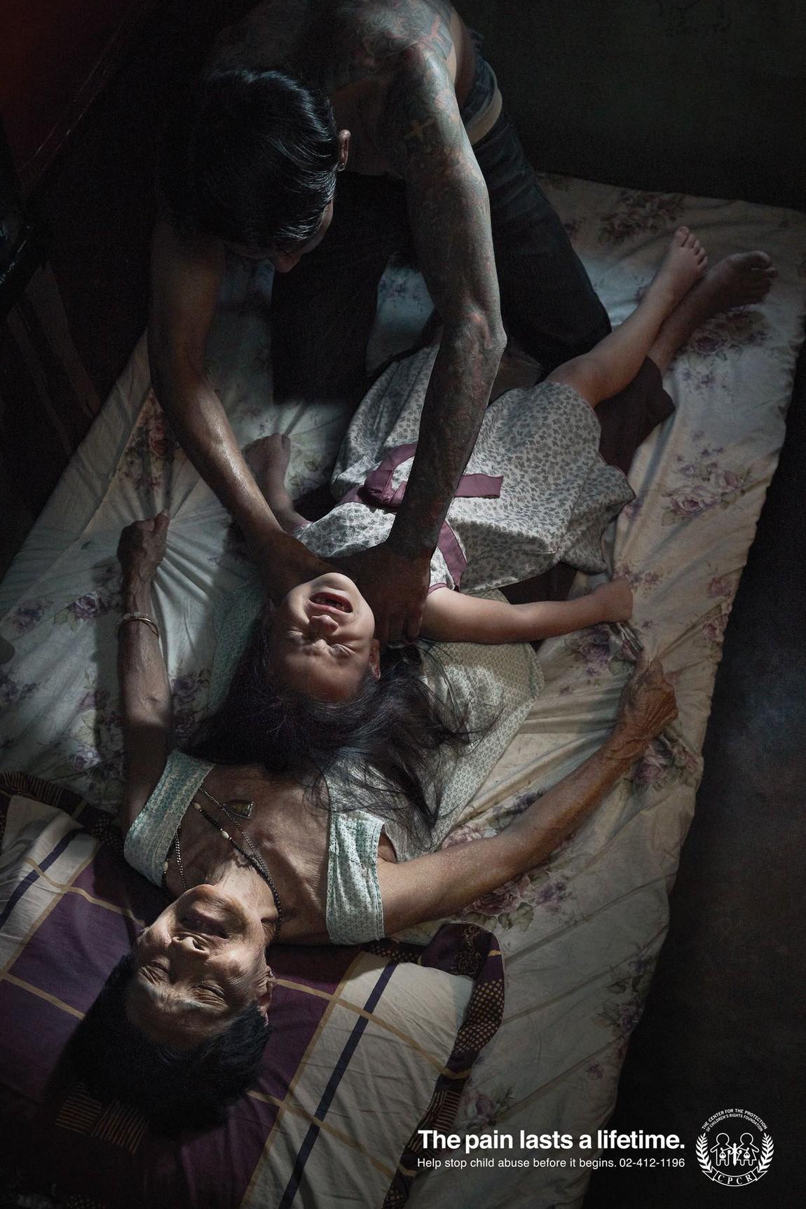 Nỗi đau theo suốt một đời - bộ ảnh phòng chống lạm dụng trẻ em từng gây chấn động MXH Thái Lan - Ảnh 4.