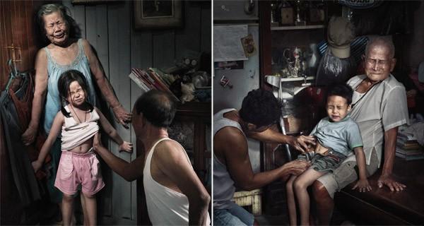 Nỗi đau theo suốt một đời - bộ ảnh phòng chống lạm dụng trẻ em từng gây chấn động MXH Thái Lan - Ảnh 1.