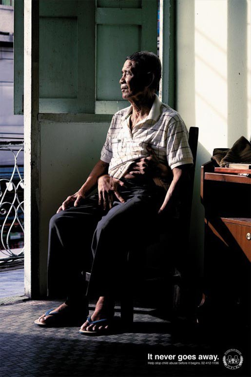 Nỗi đau theo suốt một đời - bộ ảnh phòng chống lạm dụng trẻ em từng gây chấn động MXH Thái Lan - Ảnh 5.