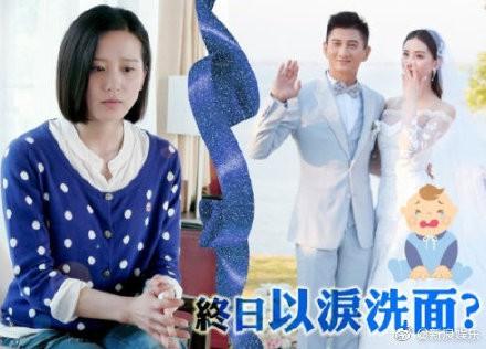 Sinh con được 2 tuần, Lưu Thi Thi mắc chứng trầm cảm sau sinh, khóc lóc không ngừng? - Ảnh 1.