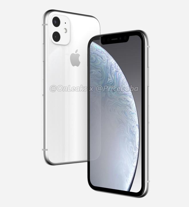 iPhone XR 2019 lộ ảnh dựng đầy thất vọng: Camera kép to lồi, viền màn hình vẫn dày tổ chảng - Ảnh 1.