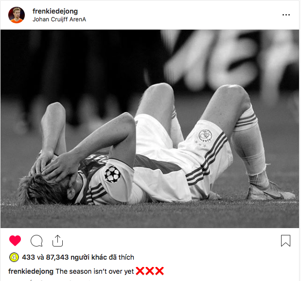 Những hình ảnh tràn ngập đau thương của Ajax Amsterdam sau khi bị đội bóng của Son Heung-min kết liễu ở giây bù giờ cuối cùng - Ảnh 6.