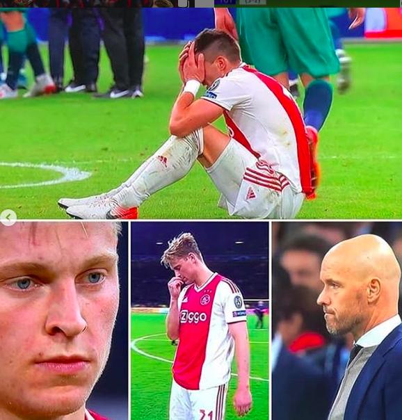 Những hình ảnh tràn ngập đau thương của Ajax Amsterdam sau khi bị đội bóng của Son Heung-min kết liễu ở giây bù giờ cuối cùng - Ảnh 16.
