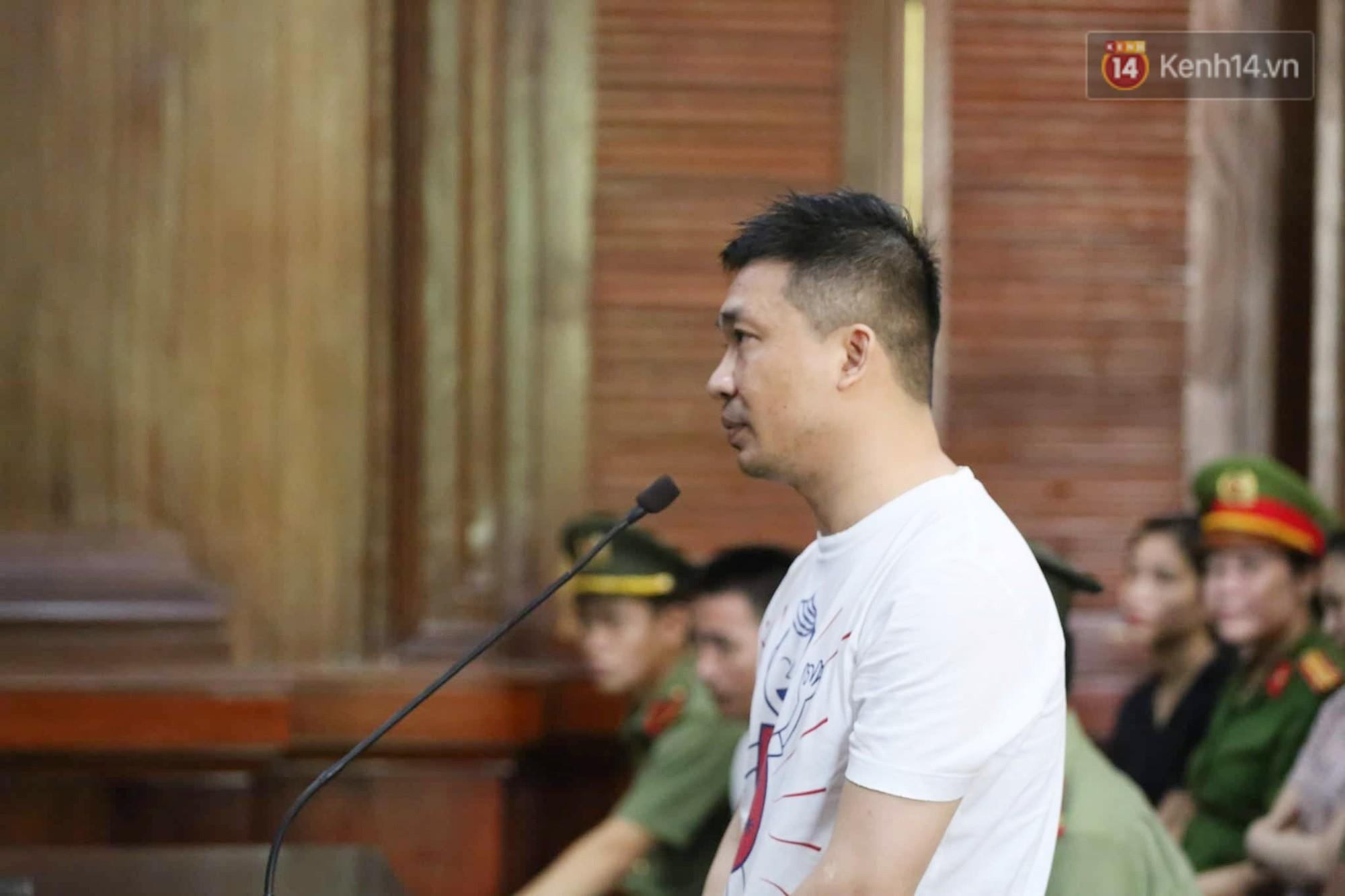 Ông trùm Văn Kính Dương vẫn cười dù bị đề nghị tử hình, hotgirl Ngọc Miu bật khóc khi VKS đưa mức án 20 năm tù - Ảnh 6.